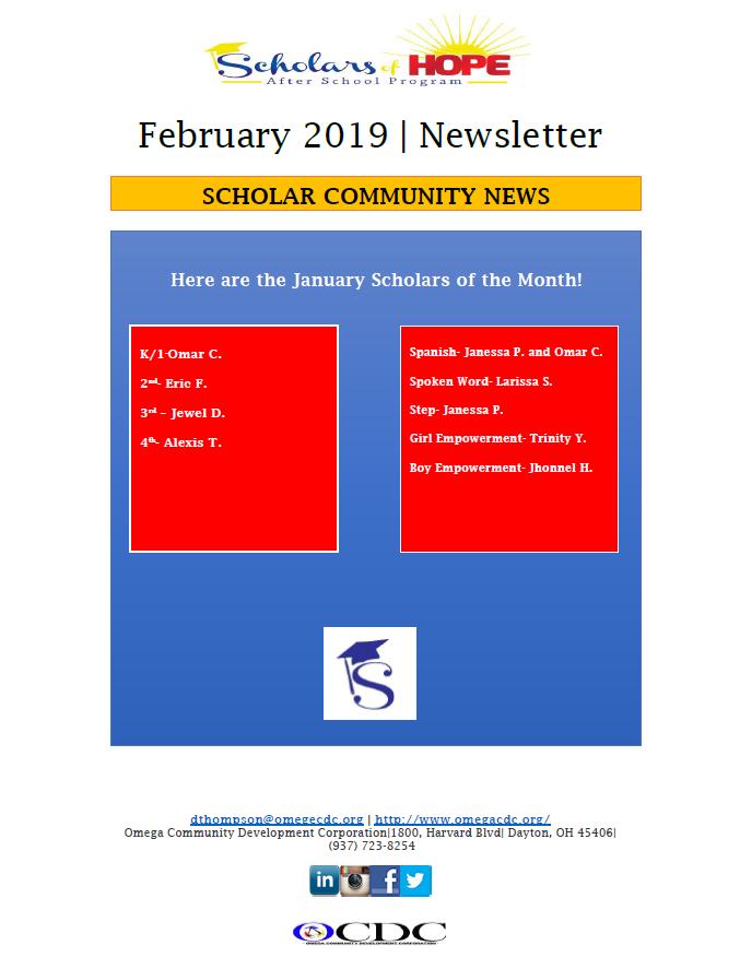 Omega Newsletter