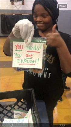You Are Enough- cookies & kindness project